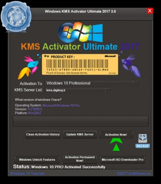 Windows KMS Activator Ultimate 2019 free