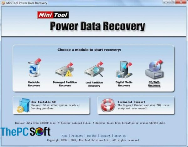 MiniTool Power Data Recovery 8.6 Crack download