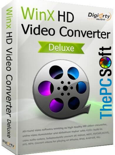 WinX HD Video Converter crack free