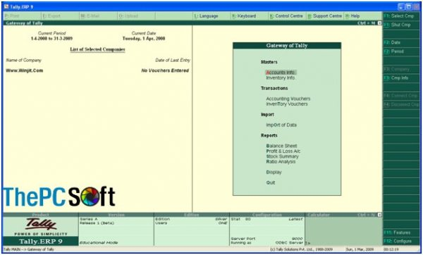 tally erp 9 crack download