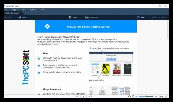 Movavi pdf editor crack free