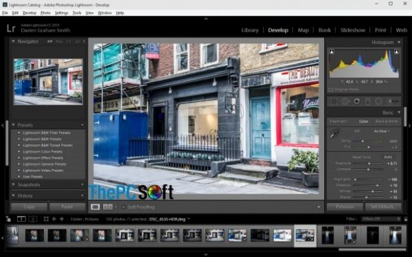 adobe photoshop lightroom free