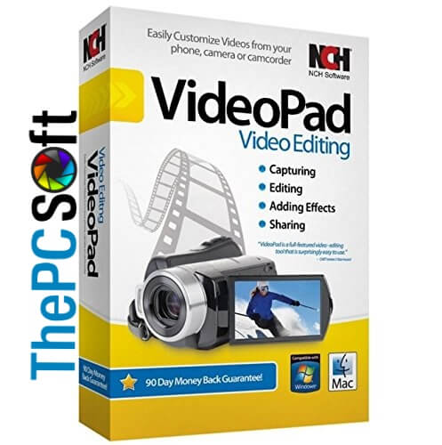 NCH VideoPad Video Editor Pro free