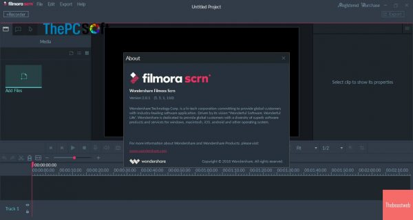 Filmora Scrn 2.0.1 Crack + activation code