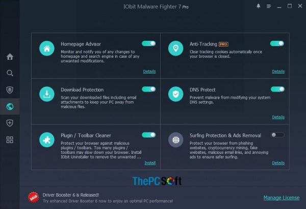 IObit Malware Fighter Pro free