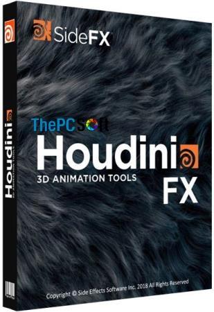 SideFX Houdini FX crack 2020