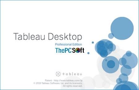 Tableau Desktop 2019.4.3 Crack 2020
