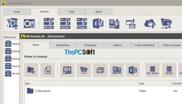 Iperius Backup free download