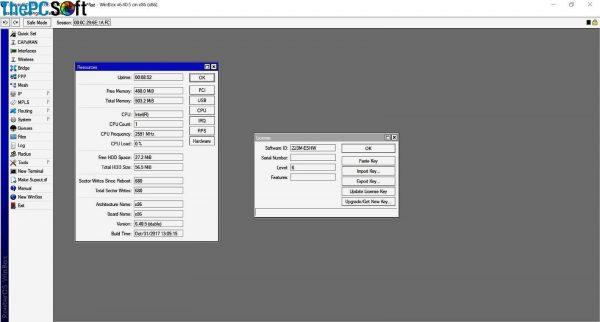 MikroTik full version license key